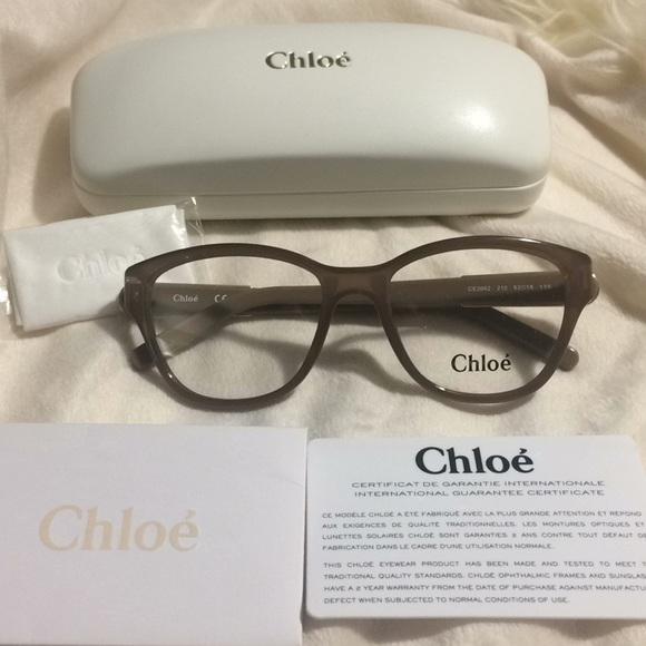 549e544d52eb Chloe Accessories - New Authentic Chloe eyeglasses frames